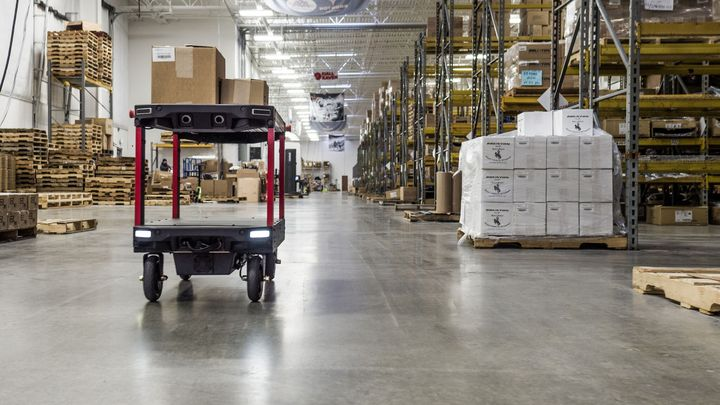 Canvas Technology is building mobile robots for warehouses. (Bild: Canvas Technology Boulder, CO)